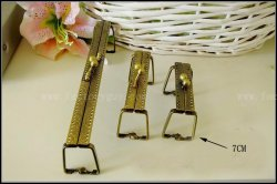7CM Vintage metal clutch purse frames