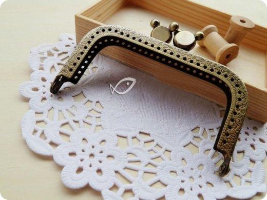 antique metal coin purse clasp frame supplies patchwork techniques. Black Bedroom Furniture Sets. Home Design Ideas