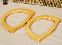 165mm wooden handles for purses