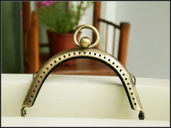 8.5CM Antique Brass Purse Making Accessories Purse Frame