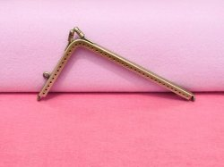 Purse Frame Antibrass Lorena 14.5cm