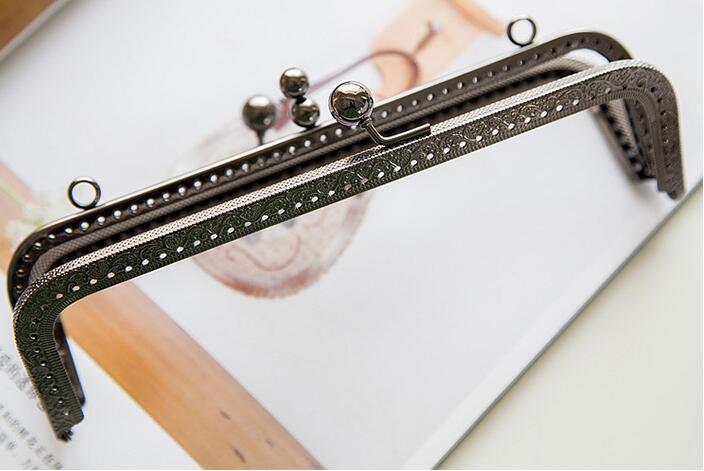 Twin Purse Frames Handbag Handle : Patchwork Techniques